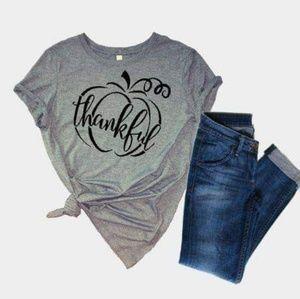 Thankful womens tshirt